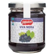Offidius - Confiture EXTRA de Raisins Noirs - 2x220 gr - Made in Italy