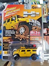 Johnny Lightning Hummer H2 Yellow MiJo Exclusive Off Road NEW