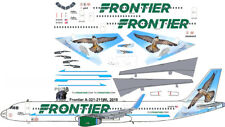 "New Frontier ""Falcon"" Airbus A321 airliner decals for Revell 1/144 kits"