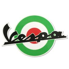 Mod Target Sticker For Vespa Roundel Italian Graphic Decal 200mm x 140mm MS21