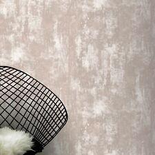 Organic Stone Industrial Concrete Metallic - Pink 902107 - Arthouse Wallpaper