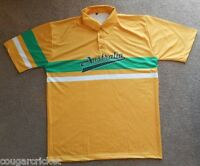 Australia Retro 80s 90s Style One Day ODI Australian Cricket Shirt