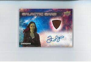 Zoe Saldana Auto COSTUME Autograph STAR TREK Avatar AVENGERS Uhura Guardians