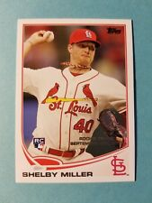 Shelby Miller - Rc Rookie #Us253 St. Louis Cardinals - 2013 Topps Update Series
