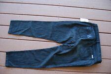 NWT Black Denim MICHAEL KORS Stretch Skinny Hem Jeans 10