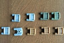 9 X Claymore Army Claymore Mine Pack compatible with toy brick minifigures