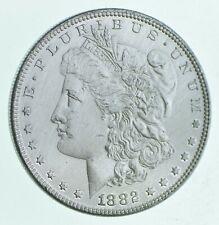Early 1882 Morgan Silver Dollar - 90% Us Coin *790