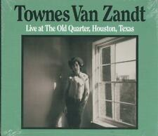 TOWNES VAN ZANDT - LIVE AT THE OLD QUARTER 73 AMERICANA COUNTRY FOLK SEALED 2-CD