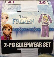 Disney Frozen Two Piece Long Sleeve Sleepwear Toddler – Size 2T -- NEW