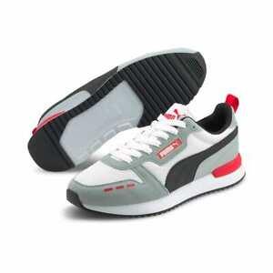 Puma R78 Sneaker Uomo 373117 35 Quarry Puma White High Risk Red