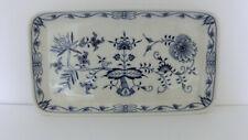 Meissen Zwiebelmuster Tablett Schale 22,0cm x 12,5cm 1.Wahl