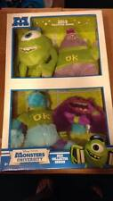 Monsters University 2013 Collectors Series Plush Set 4 Mike Sulley Squishy Art