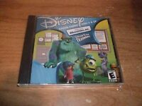 (3) Monsters Inc Monster Tag + Bowling for Screams CD-ROM Games WIN 95/98/Me