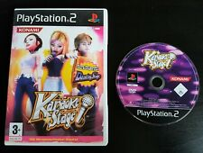 Karaoke Stage - PlayStation 2 - PAL - Free, Fast P&P! - Sing, Singing, Music