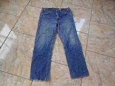 H9363 Levis 505 Regular Fit Straight Leg Jeans W32 L28 Mittelblau  mit Mängeln