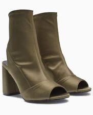 Next Khaki Sock Boots 9/43