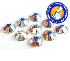 100 Swarovski ® cristales Crystal a partir de ss9, no HotFix (pedrería adhesivas)