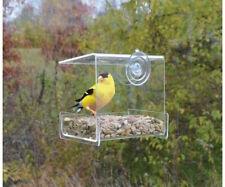 GC - Songbird Essentials - Clear View Mini Window Bird Feeder