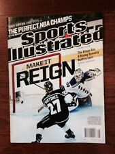 NHL Champions LOS ANGELES KINGS Sports Illustrated (Regional Cover)