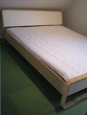 IKEA Doppelbett Anes, 160 x 200 cm, Birke, zwei Lattenroste