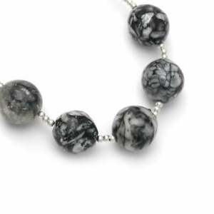 Pinolith Smooth Round Balls Beads 14 mm to 15 mm 10 cm Full Strand