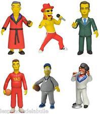 """full Satz of 6 Simpsons 25th Jahrestag 5"""" Figur Serien 1 die 6 Figuren Neca"""