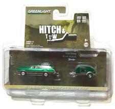 Green Machine 32170-A 1971 Oldsmobile Vista Cruiser & Trailer Greenlight CHASE