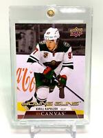 2020-21 UD Series 2 UD Canvas Young Guns #C225 Kirill Kaprizov RC