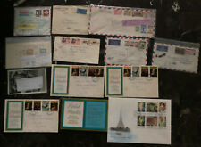 13 Worldwide Cover Afghanistan England Sweden Cover Collection Lot Mxe