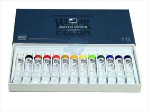 Shinhan Professional Watercolour Paint Set 7.5ml 13 Colors Artist Water Color
