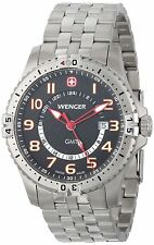 Wenger Stainless Steel Case Men's Wristwatches