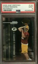 2005 Leaf Certified Generation Materials Aaron Rodgers Rookie #162 PSA 9 /1000
