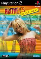PS2 BRITNEY'S DANCE BEAT PlayStation 2 Japan F/S