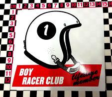 Années 1960 style Boy Racer Autocollant-Hot Rod Street Rod Old Skool Drôle Voiture Sleeper