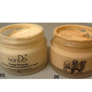 TianDe Sheep Placenta Natural Look Foundation Cream 50g
