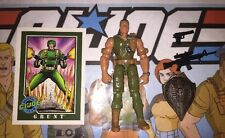 Grunt 2003 Hasbro GI Joe Action Figure, Case, Card & Accessories Lot A
