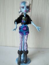 Mattel Monster High Doll Abbey Bominable on Stand with Fully Clothed