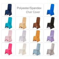 Dining Chair Covers Spandex Slip Cover 1-100pcs Stretch Wedding Banquet Party