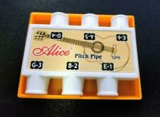 Guitar Pitch Pipe (6 Notes) And 5 Guitar Picks - Alice Brand