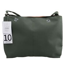 Green Anello 10 Pockets Shoulder Fashion Cross-Body Message Tablet Travel Bag
