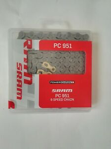 SRAM PC-951 PowerChain II 9 Speed - Road / Mountain Bike Chain - PC951