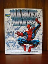 Marvel Universe - Peter Sanderson - Hardcover w/Dustjacket 1996 Fine