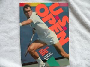 Program from 1986 US Tennis Open along with Matches from 11th Day of the Event