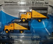 Pack Of 2 Mini Metals 1:160 N Scale International R-190 B&O RR Delivery Truck