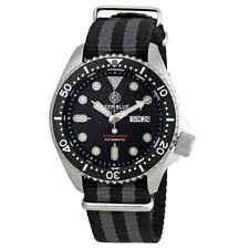 Deep Blue Watches Nato Diver 300 Automatic Men's NATODIVERSSBLACK