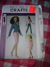"McCall's Crafts M4860 Osz 16"" Doll Clothes"