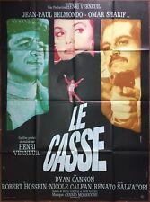Affiche LE CASSE Henri Verneuil JEAN-PAUL BELMONDO Omar Sharif 120x160cm