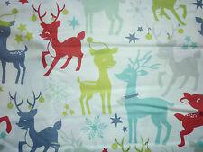 Clearance FQ Nordic Natale RENNA DECORATO CERVO Fiocchi di neve in tessuto