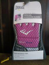New Everlast Women's EverCool KickBoxing Training Gloves - Pink