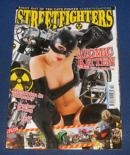 STREETFIGHTERS MAGAZINE FEBRUARY 2009 - ATOMIC KITTEN FELINE GSX-R FIGHTER